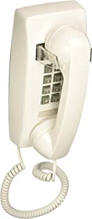 Cortelco 255415-VBA-20M Single Line White Wall Telephone