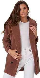 Elwood Women's Womens Boston Coat Polyester Pink