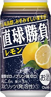 合同酒精 直球勝負 レモン [ チューハイ 350mlx24本 ]