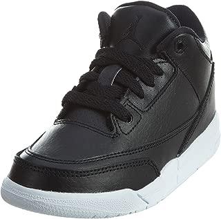 Retro 3 Basketball Boys Preschool Shoes Size