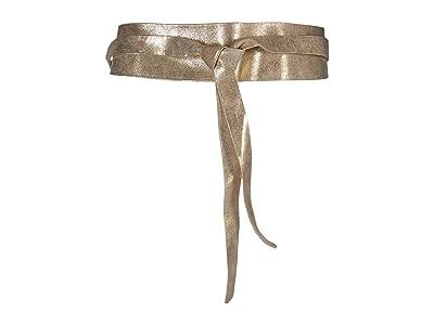ADA Collection Obi Classic Wrap Belt (Gold) Women