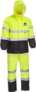 high visibility rain suit