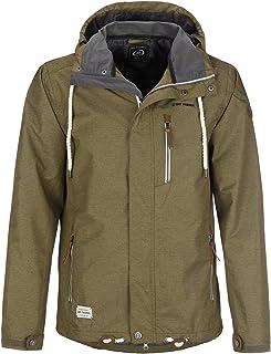 Dry Fashion Heren functionele jas Husum gemêleerd regenjas