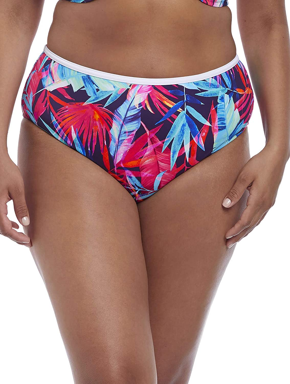 Plus Size Paradise Palm Bikini Bottom