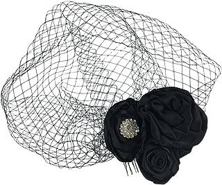 Best black birdcage hair piece Reviews