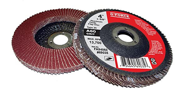2 in Disc Dia Non-Woven Finishing Disc 98 Units Aluminum Oxide 20000 RPM