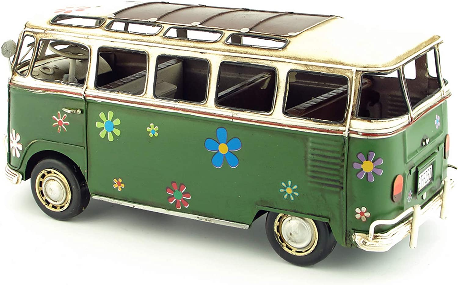 YHYGOO Antique Vintage Car OFFicial shop Recommended Model Handmade Bus Caf for Retro Home