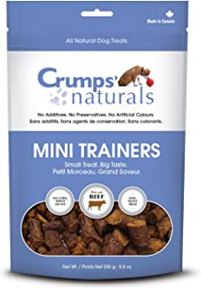 Crumps' Naturals Mini Trainers Beef (semi-Moist) (1 Pack), 120g/4.2 oz