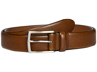 Johnston & Murphy Diagonal Embossed (Tan) Men