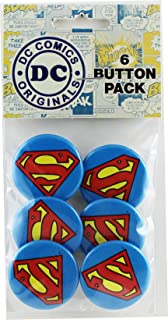 superman button