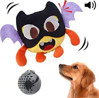 NEILDEN Dog Toys Interactive Plush Dog Toy Squeaky Automatic Ball Toys Electronic Shake Crazy Bounce Toys for Small to Medium Dogs to Exercise Entertain Training