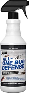 Sponsored Ad - All-N-One Bug Defense Natural Spray by Exterminator's Choice for Roaches Ants Silver Fish Crickets|Spiders|...