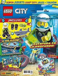 Lego City N.13 ¡Buzo + tiburón!