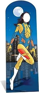 Star Cutouts SC651 Superhero Female Stand-In Cardboard Cutout Standup