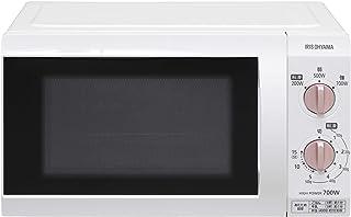 アイリスオーヤマ 電子レンジ 18L 単機能レンジ 700W フラットテーブル 50Hz/東日本 ホワイト IMB-F184WPG-5