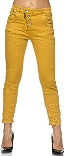 69f216fd456bb Elara Jeans Femme | Pantalon Taille Haute | décontracté et Confortable |  Pantalon avec Fermeture à