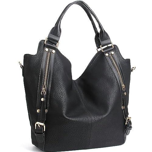 0e469b40d382 JOYSON Women Handbags Hobo Shoulder Bags Tote PU Leather Handbags Fashion  Large Capacity Bags