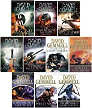 David Gemmell Drenai Series 10 Books Collection Set (Legend Drenai,King Beyond The Gate,Waylander,Quest For Lost Heroes,First Chronicles,Legend of Deathwalker,Winter Warriors,Hero In The Shadows..