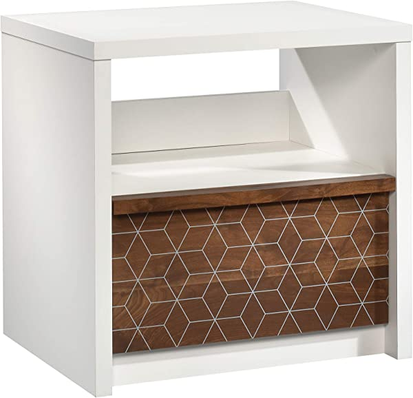 Sauder 424227 Harvey Park Night Stand Soft White Finish