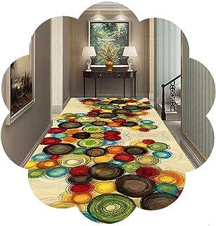 HAIPENG Non Slip Runner Rug for Hallway, Entryway Rugs Perfect for Kitchen Bedroom Living Room, 70cm/100cm/120cm Wide Mode...