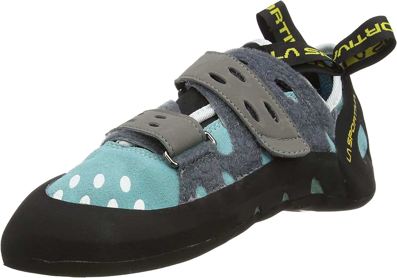 La Sportiva Tarantula Woman Turquoise, Zapatos de Escalada Mujer