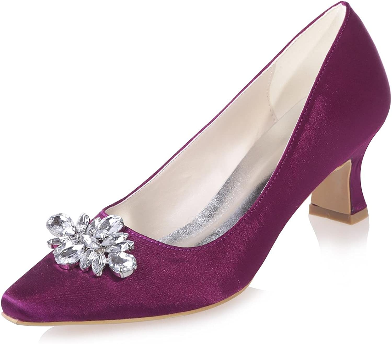 L@YC Damen Hochzeitsschuhe BüRo  Nacht    Spitze Professional apparel Party   0723-02  After-Sale-Schutz