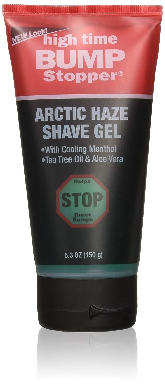 High Time Bump Stopper Shave Gel 156ml Haze 5.3 Finally popular New York Mall brand Arctic Ounce