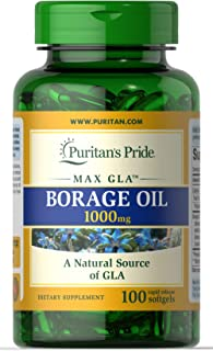 Puritans Pride Borage Oil, 1 Gram