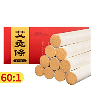 10 years'old Moxa Roll Strip Moxibustion Stick Pure 10pcs/box