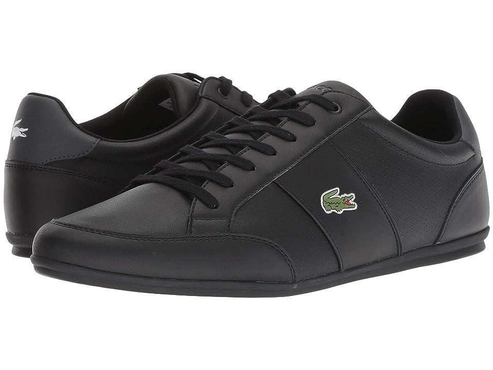 Lacoste Nivolor 318 1 P (Black/Dark Grey) Men