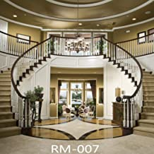 10x10ft Gorgeous Palace Photography Backdrops Elegant Interior Stairs Photo Background Vinyl Photo Booth Studio Props RM-007