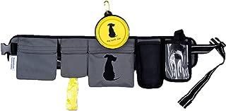 FreshStart DogiPack Hands-Free Dog Walking Belt Fanny Pack with Treat Pouch Phone Carrier Water Bottle Holder Collapsible Bowl Poop Bags ID Pocket for Men & Women Dog Walkers