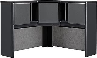 Bush Business Furniture Series A Collection 48W Corner Hutch in White Spectrum