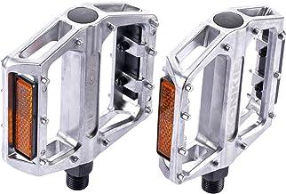 zonkie Fiets pedalen,Mountain Fietsen Pedalen Platte Aluminium Platform Verzegelde Lager As 9/16 Inch