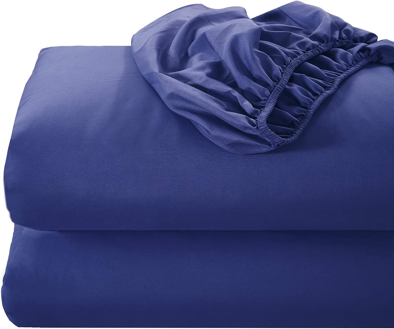 Gray, Queen SVOHZAV Fitted Bottom Sheet,16-Inch Deep Pocket,Premium 1800 Ultra-Soft Wrinkle Resistant Microfiber,Stain Resistant Hypoallergenic,Easy Fit