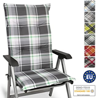 Beautissu Cojín para sillas de Exterior y jardín con
