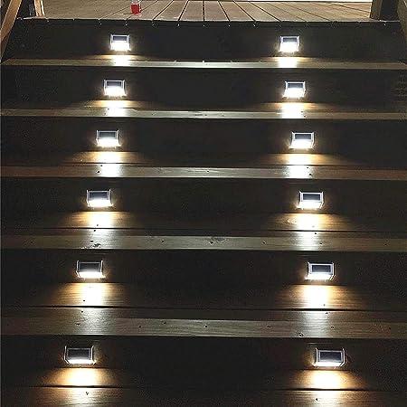 Led deck step lights