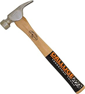 """16 Oz 14"""" Dalluge Trim Hammer Wood Handle 1600"""