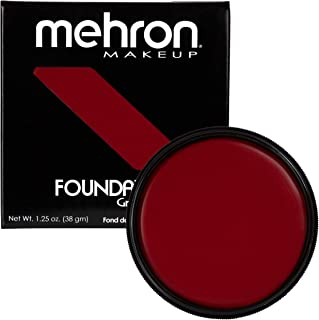 Mehron Makeup Foundation Greasepaint (1.25 oz) (RED)