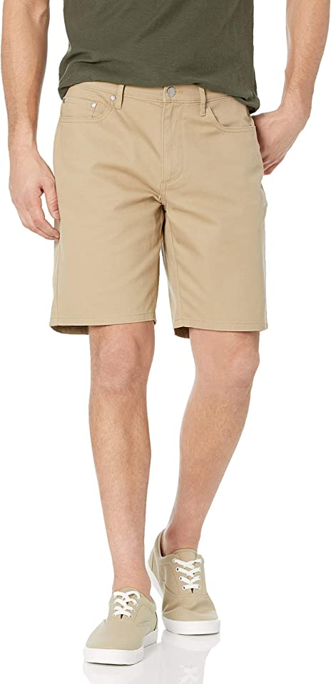 Amazon Essentials Men's Straight-fit 9 Inseam Stretch 5-Pocket Short