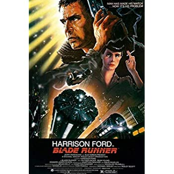 Buyartforless Ridley Scott's Blade Runner 36x24 Movie Poster, Print, Decorative Accent, Wall Art, Multi-Color