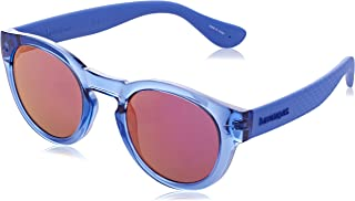 Havaianas Trancoso/M Unisex Round Sunglasses, 49mm