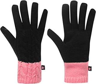 SoulCal Womens Eolous Gloves Black/Pink