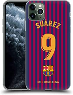 Official FC Barcelona Luis Suárez 2018/19 Players Home Kit Group 1 Soft Gel Case Compatible for iPhone 11 Pro Max