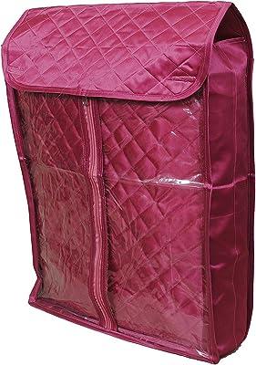 """Neysa 4"""" Height Front Transparent Salwar Suit/Kurta Cover For Men and Women - Pink"""