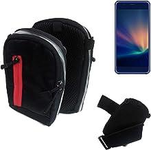 K-S-Trade® Bolso Al Aire Libre De La Bolsa De La Pistolera De La Bolsa para Hisense A2 Pro Caja del Teléfono Móvil Negro Caja del Teléfono Móvil Travelbag