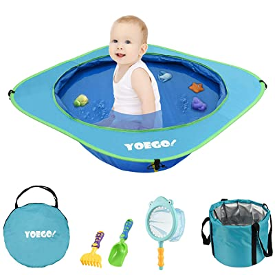 Yoego Kiddie Pool, Portable Baby Beach Swimming...