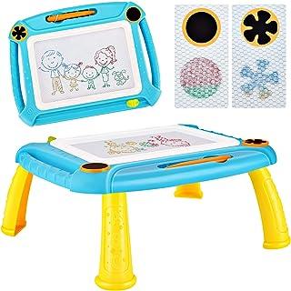 DUTISON Ardoise Magique Enfant Tableau De Dessin Magnétique Coloré à Multicolore Format lanche à Dessin Effaçable Aimant p...