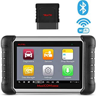 Autel MaxiCOM MK808BT Diagnostic Scan Tool with All System Diagnosis and 21 Services, IMMO, Oil Reset, EPB, BMS, SAS, DPF, ABS Bleed, Upgraded Ver. of MK808 (MaxiCheck Pro + MD808 Pro)
