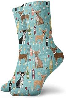 hdyefe, Boxer Library Libros Lindos perros Crazy Crew calcetines suaves novedad 30 cm